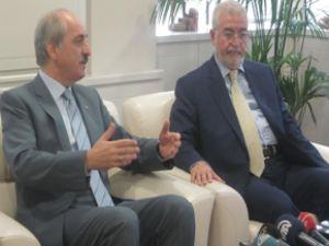 Kurtulmuş, Irak İslam Partisi Genel Sekreteri'ni kabul etti