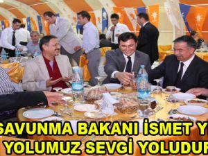 """""""BİZİM YOLUMUZ SEVGİ YOLUDUR"""""""
