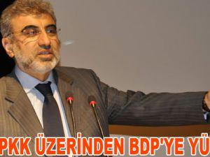 YILDIZ PKK ÜZERİNDEN BDP'YE YÜKLENDİ