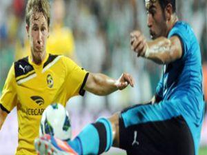 Bursaspor 6- KuPS Kuopio 0 Maç Özeti Özet Golleri
