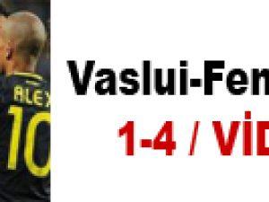 Vaslui-Fenerbahçe 1-4 / VİDEO