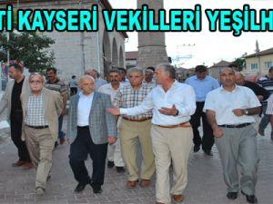 AK PARTİ KAYSERİ VEKİLLERİ YEŞİLHİSAR'DA