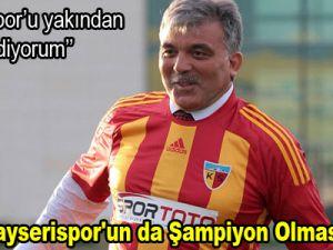 """""""Artık Kayserispor'un da Şampiyon Olması Lazım"""""""