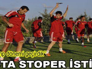SHOTA STOPER İSTİYOR