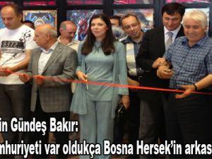 """Prof. Dr. Pelin Gündeş Bakır: """"Türkiye Cumhuriyeti var oldukça, Bosna Hersek'in arkasında olacak."""""""