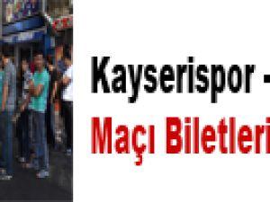 KAYSERİSPOR - BEŞİKTAŞ MAÇI BİLETLERİ SATIŞA ÇIKTI
