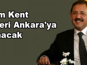 Kadim Kent Kayseri Ankara'ya Taşınacak