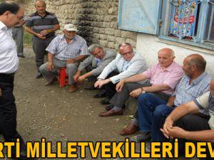 AK PARTİ MİLLETVEKİLLERİ DEVELİ'DE