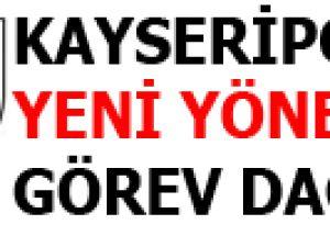 KAYSERİPOR'DA YENİ YÖNETİM GÖREV DAĞILIMI