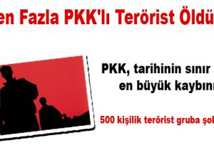100'den fazla PKK'lı terörist öldürüldü!