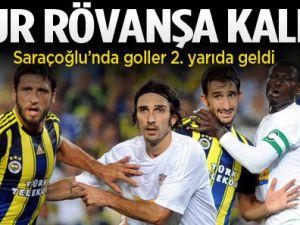 Fenerbahçe: 1-1 Vaslui Maç  Sona Erdi
