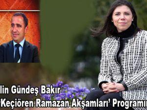 Prof. Dr. Pelin Gündeş Bakır Bu Akşam ''Keçiören Ramazan Akşamları'' Proğramının Konuğu