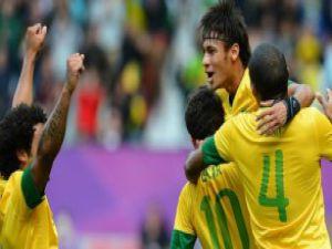 Neymar'dan olimpik samba!video