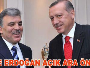Gül ve Erdoğan açık ara öndeler