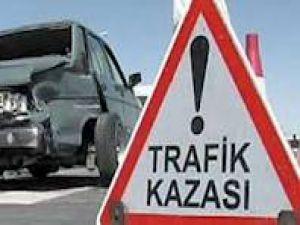 TRAFİK KAZASINDA YARALANDI