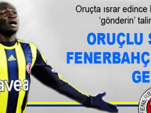 Oruçlu Sow, Fenerbahçe'yi gerdi