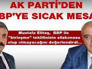 AK Parti'den BBP'ye sıcak mesaj: 'Dünya görüşümüz bir, birlikte olabiliriz!.'