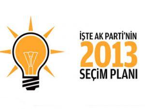 AK Parti'nin 2013 planı!