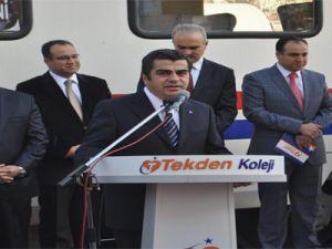 Vali Düzgün,Kaymakam Candan Cumhuriyet Treniyle Sivas'a Gitti