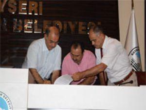 KOCASİNAN'DA SOSYAL DENGE SÖZLEŞMESİ İMZALANDI