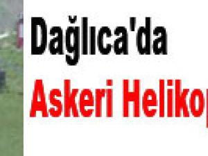 Dağlıca'da askeri helikopter düştü