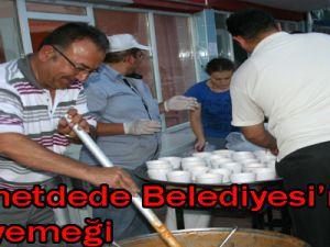 Himmetdede Belediyesi'nden iftar yemeği