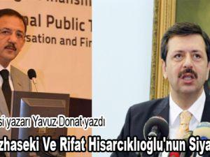 Mehmet Özhaseki Ve Rifat Hisarcıklıoğlu'nun Siyaset Hayatı