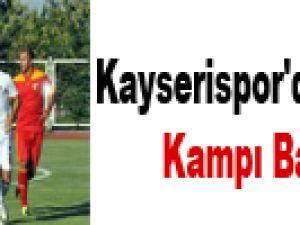 Kayserispor'da Avusturya Kampı Başlıyor