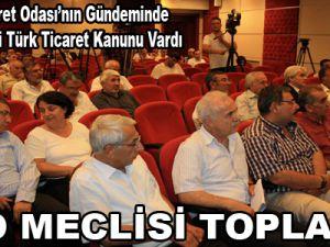 KTO MECLİSİ TOPLANDI