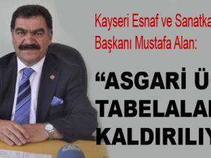 ASGARİ ÜCRET TABELALARI KALDIRILIYOR