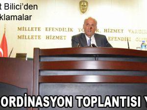 3.İL KOORDİNASYON TOPLANTISI YAPILDI