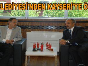AĞRI BELEDİYESİ'NDEN KAYSERİ'YE ÖVGÜLER