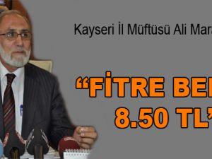 FİTRE BEDELİ 8.50 TL