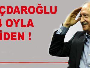 Kılıçdaroğlu 1164 oyla yeniden Genel Başkan