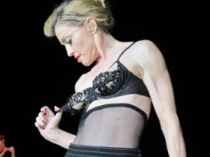 Madonna'yı korku sardı