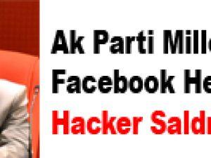 Ak Parti Milletvekilinin Facebook Hesabına Hacker Saldırısı