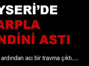 Kayseri'de Kapıya Bağladığı Eşarbıyla İntihar Etti