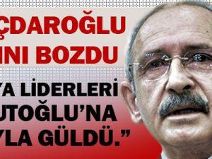 Kemal Kılıçdaroğlu: Pek Çok Ülke Davutoğlu'na Kıçıyla Gülmüştür