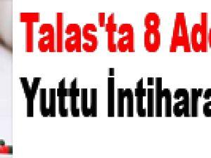 Talas'ta 8 Adet Hap Yuttu İntihara Kalkışta