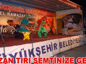 RAMAZAN TIRI SEMTİNİZE GELİYOR