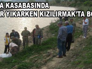 Yemliha Kasabasında Çamaşır Yıkarken Kızılırmak'ta Boğuldu