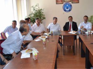 MHP MİLLETVEKİLİ HALAÇOĞLU'NDAN KAMU - SEN'E ZİYARET