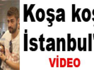Amrabat Koşa Koşa İstanbul'a Geldi / Video