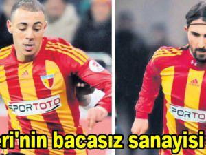Kayseri'nin bacasız sanayisi futbol