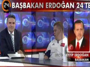 Erdoğan'dan canlı yayında süpriz telefon / Video