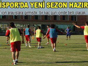 KAYSERİSPOR'DA YENİ SEZON HAZIRLIKLARI