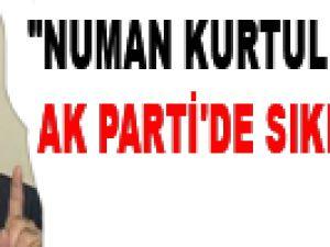"""NUMAN KURTULMUŞ AK PARTİ'DE SIKINTI OLMAZ"""