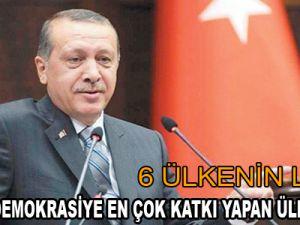 Türkiye Demokrasiye En Çok Katkı Yapan Ülke Seçildi