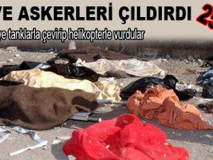 Esed ve askerleri çıldırdı: 250 ölü