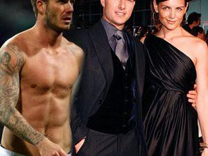Tom Cruise Ve David Beckham Yatakta Basıldı